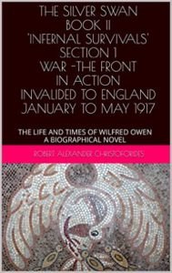 THE SILVER SWAN BOOK II 'INFERNAL SURVIVALS' SECTION 1 WAR -THE FRONT - IN ACTION - INVALIDED TO ENGLAND JANUARY TO MAY 1917